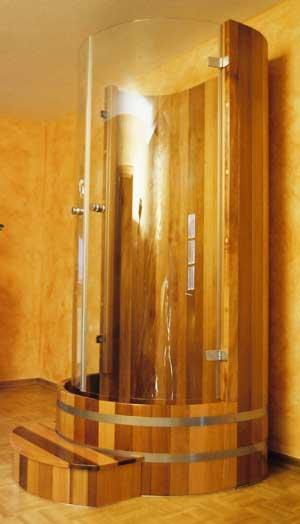 Holz Duschkabinen